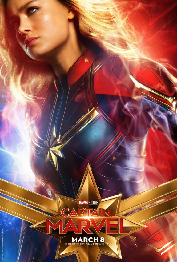 Captain Marvel (2019) poster CR: Marvel Studios